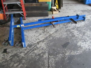 Vestil Mfg Co Fpg 3 300 Lbs Cap Work Area Portable Gantry Crane W jet Trolley