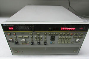Agilent Hp 8673d Synthesized Signal Generator 0 5 26 Ghz Opt H16
