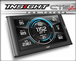 Brand New Edge Insight Cts2 Monitor In Gauge Display 84131 For Toyota Vehicles