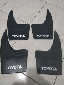 Toyota Mud Flaps Mud Guard Splash Guard Toyota Rear Or Front Mudflap Mudguard