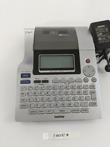 Brother P touch Electronic Labeling System Pt 2700 With Ac Adapter