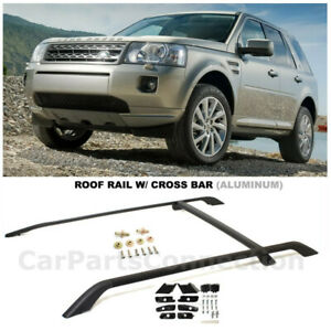 Land Rover Freelander 2 Lr2 08 15 Oem Factory Style Black Roof Rack Mount Rails