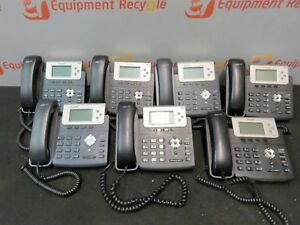 Yealink Ip Office Business Phone Hd Voice Poe Display Sip t22p Sip t23g Lot Of 7