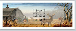 Personalized Address Labels Country Deer Buy 3 Get 1 Free bx 680