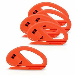 50 Pcs Snitty Safety Cutter Vinyl Film Graphic Cutting Tool Paper Decals Home