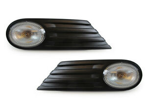 Oe Style Front Fender Side Marker Light Set For 2007 2013 Mini Cooper S R56 R57
