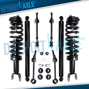 2006 2008 Dodge Ram 1500 4wd Front Struts Rear Shocks Sway Bar 8pc Kit 5 7l