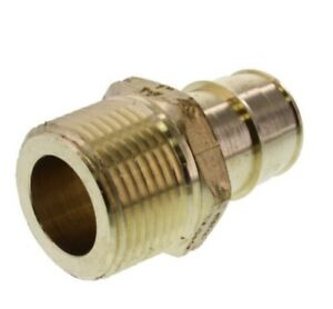 Bag Of 10 1 Propex X Npt Male Adapter Uponor wirsbo Lead Free Brass