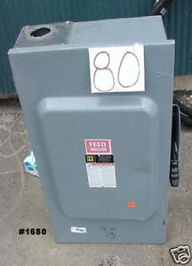 Electric Switch Box 460 3 60