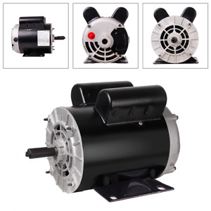 Useful 2hp 3hp 5hp Air Compressor Electric Motor 56 Frame 5 8 Shaft 3450 Rpm