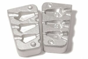 Aluminum lead Mold for 3 Drop Shot -8 -10-14g (0.28 - 0.49 oz) Weights  Fishing