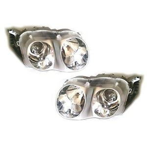 New 2000 2001 Hyundai Tiburon Headlight Assembly Lh Rh Set Genuine Parts Oem