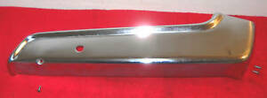 1959 1960 Lincoln Premiere Continental Orig Front Seat Lh Side Lower Trim 4 Way