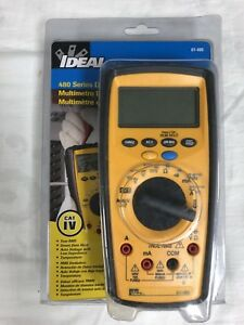 Ideal Electrical 61 486 486 Series Commercial grade Digital Multimeter