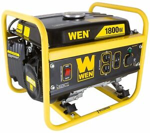 Wen 1800 w Portable Gas Powered Generator Lightweight Home Rv Camping Tailgating