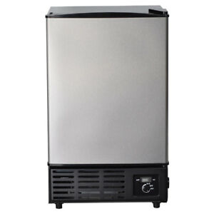Smad Stainless Steel Built in Ice Cube Machine Restaurant Commercial Ice Maker