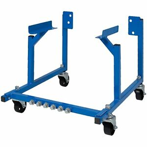 Auto Engine Cradle Stand For Ford Dolly Mover Repair Rebuild With Wheels
