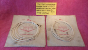 1940 1942 Studebaker Champion Nos Genuine Pair 2 Horn End Cables Free Shipping
