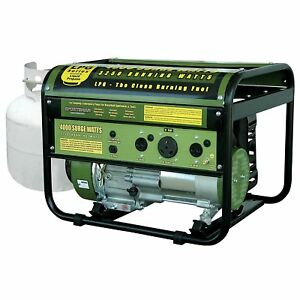 Sportsman 4000 w 7 Hp Portable Propane Gas Generator Home Rv Camping Tailgating