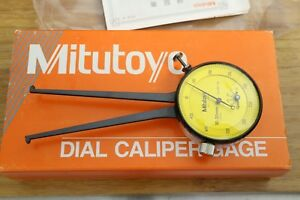 Mitutoyo Inside Internal Dial Caliper Comparator Gauge Gage 10 35mm 0 025mm