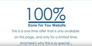 100 done For You Website For Sale 173 Video Marketing Affiliate Website
