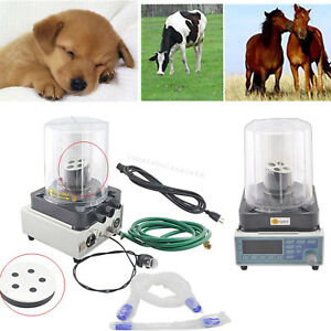Led Veterinary Anesthesia Ventilator Breathe Machine Animals 2 Bellows Wind box
