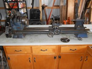 Craftsman Metal Wood Lathe 12 X 54 Bed W Milling Attachment Much More