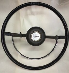 1967 Ford Galaxie Steering Wheel Horn Ring Button
