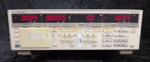 Yokogawa Wt2030 Digital Power Meter W calibration Certificate Dated 4 26 18