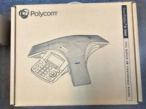 Polycom Soundstation Ip 5000 Conference Phone Poe No Power Supply Included