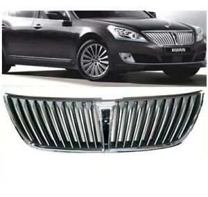 New 2014 2015 Hyundai Equus Front Grille W Front Camera Hole Genuine Part Oem