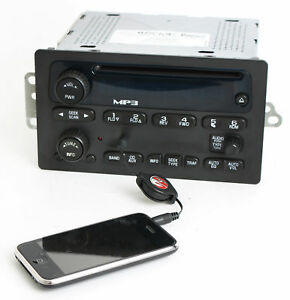 Chevy Gmc 2005 2012 Truck Radio Am Fm Mp3 Cd Upgraded W Aux 3 5mm Input 15216905
