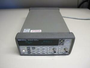 Agilent 53131a Universal Frequency Counter 10 Digit sec Opt None ref db