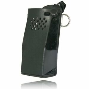 Boston Leather 5618rcnw 1 Radio Holder D Rings Black For Motorola Apx6000