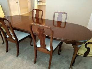 Hickory Furniture Co American Masterpiece Dining Set Buffet Server Table Chairs