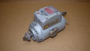 Delta Rockwell Super 990 Radial Arm Saw Motor 1 HP 115230 Volt 1 Phase.