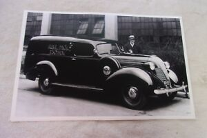 1937 Hudson Terraplane Sedan Delivery 11 X 17 Photo Picture