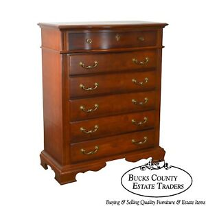 Bassett Traditional Cherry Gentlemans Tall Chest