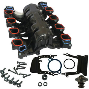 Intake Manifold W Gasket Thermostat O Rings For Ford Mercury Lincoln 4 6l V8