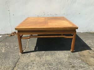 Coffee Table James Mont Inspired Campaign Ming Style Living Room Furniture Wood