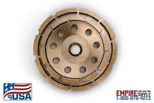 Fits Bosch 5 inch Diamond Cup Grinding Wheel For Concrete Brand New Double Row