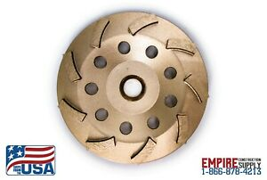 Fits Bosch 5 inch Diamond Cup Grinding Wheel For Concrete Single Row Turbo New