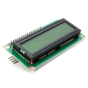 3pcs Iic i2c 1602 Yellow Green Backlight Lcd Display Arduino Module from Us