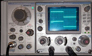 Tektronix Sc504 Oscilloscope Plug In For Tm500 Frames Working No Ac Trigger