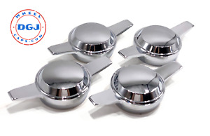 Zenith Smooth Dome Chrome Knock off Spinners For Lowrider Wire Wheels m