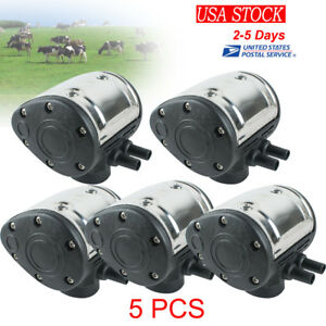 5x L80 60 40 Pneumatic Pulsator For Cow Milker Milking Machine Dairy Farm Us Fda