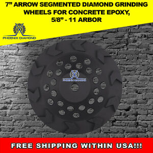 7 Arrow Segment 5 8 11 Threaded Cup Wheel Supreme Quality