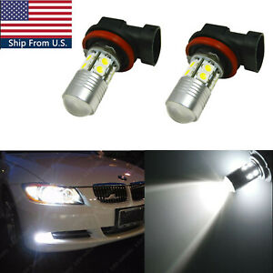 New H8 100w 6000k White Led Fog Lights For Bmw 320i 328i 335i 750li 750i Xdrive