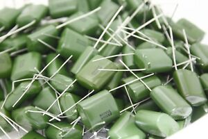 1uf Tracon Polyester Film Capacitors 100 Per Lot