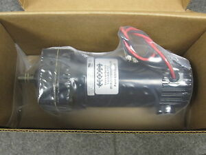 New Bison Series 190 Dc Gear Motor 1 10 Hp 24 Volts 73 Rpm 011 190 1125